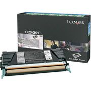 Lexmark C5240KH Black Toner Cartridge High Capacity Return Program