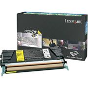 Lexmark C5240YH Yellow Toner Cartridge High Capacity Return Program
