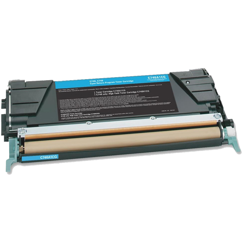 Compatible Lexmark C748H1CG Cyan Toner Cartridge