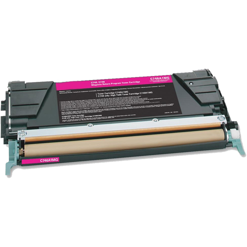 Compatible Lexmark C748H1MG Magenta Toner Cartridge