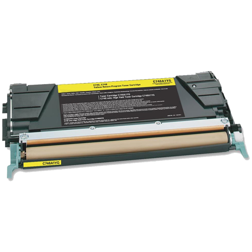 Compatible Lexmark C748H1YG Yellow Toner Cartridge