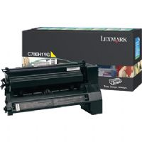 Lexmark C780A1YG Yellow Toner Cartridge Return Program