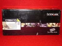 Lexmark C780H1YG Yellow Toner Cartridge High Capacity Return Program