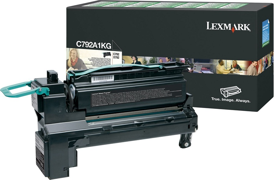 Lexmark C792A1KG Black Toner Cartridge
