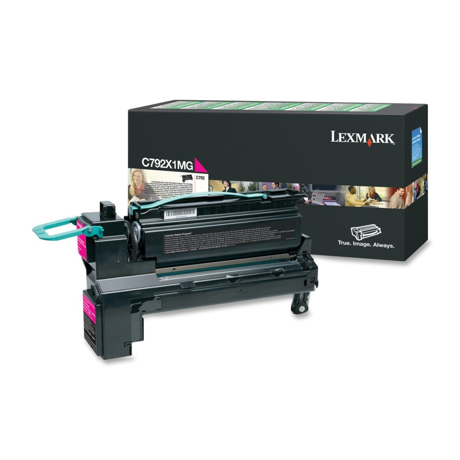 Lexmark C792X1MG Magenta Toner Cartridge