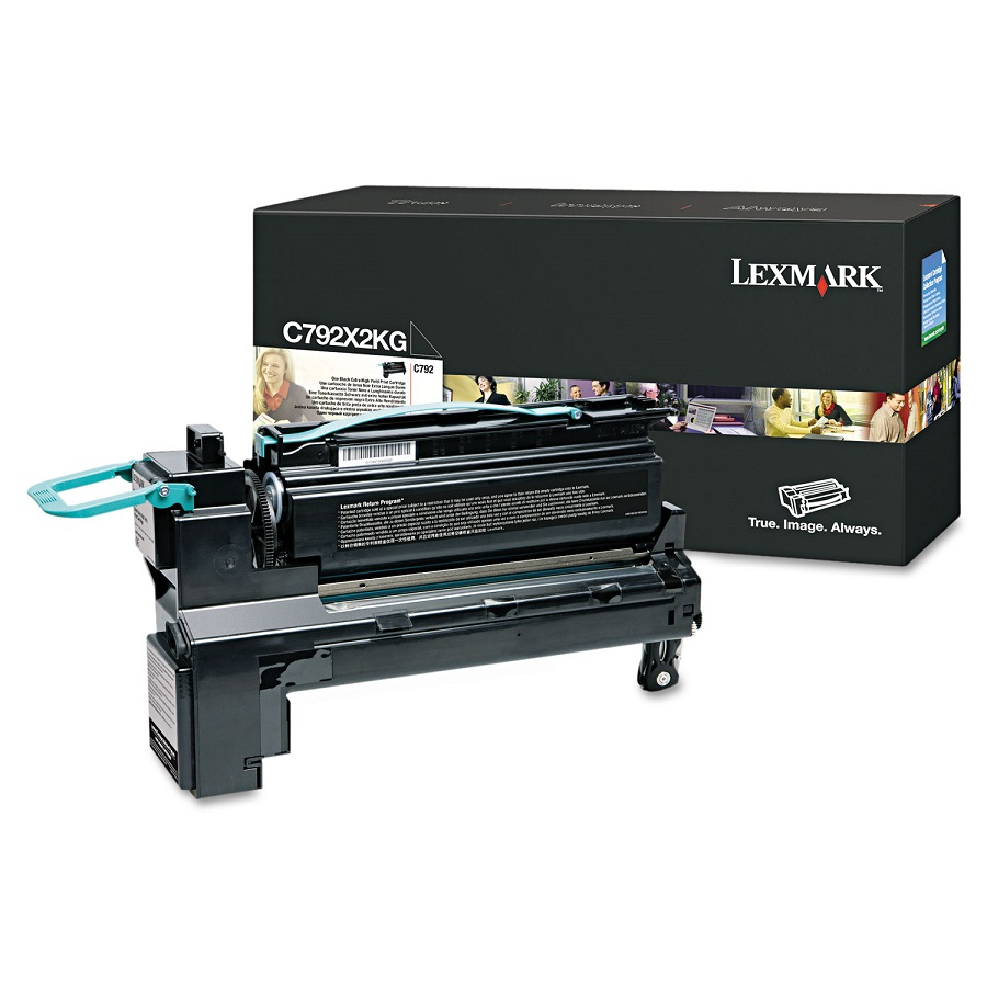 Lexmark C792X2KG Black Toner Cartridge