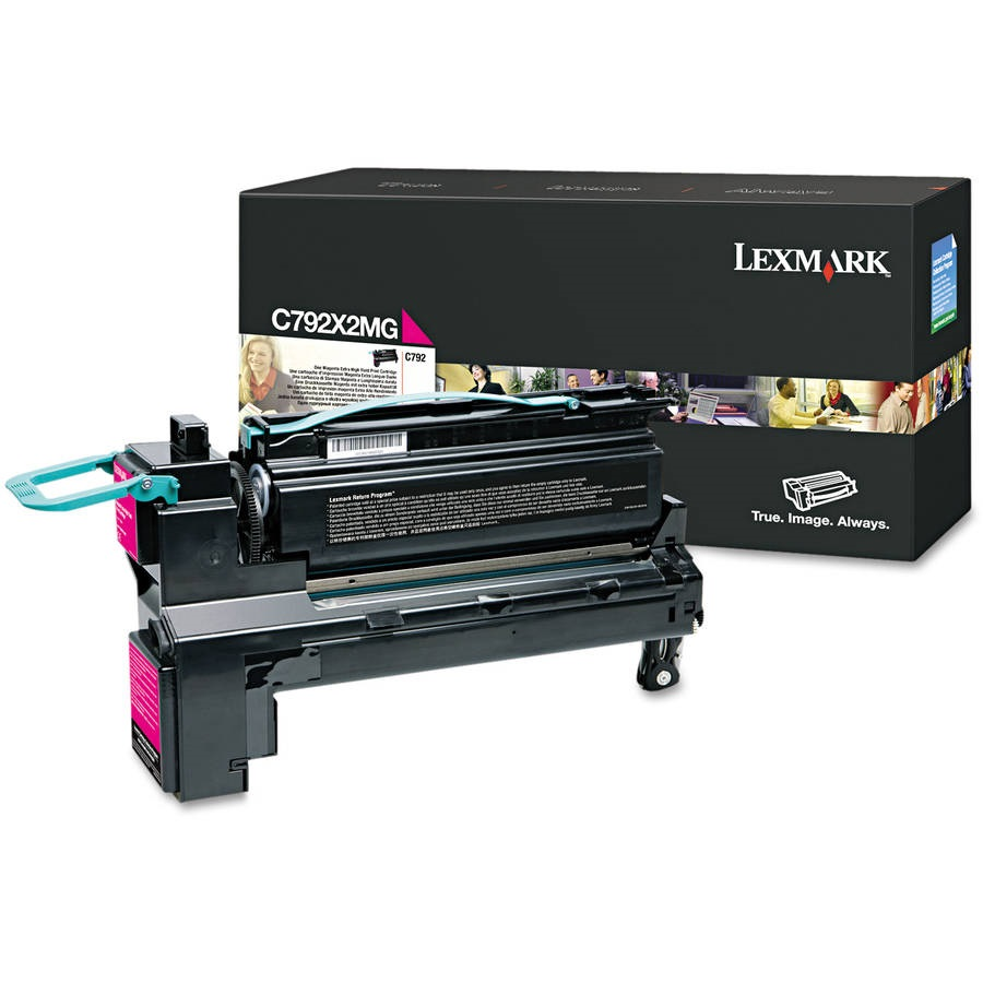 Lexmark C792X2MG Magenta Toner Cartridge