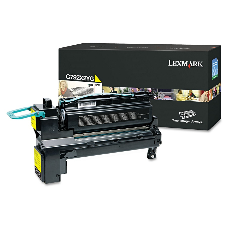Lexmark C792X2YG Yellow Toner Cartridge
