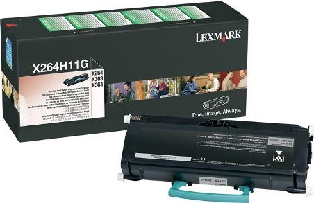 Lexmark X264H11G Black Toner Cartridge High Yield Return Program