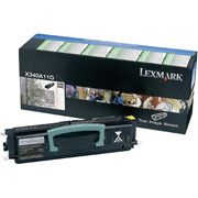 Lexmark X340A11G Black Toner Cartridge Return Program