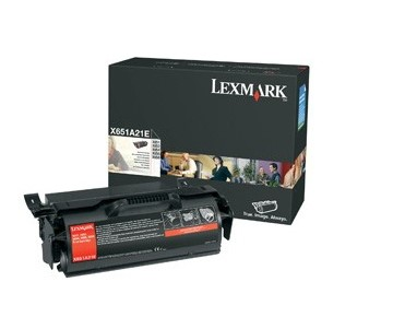 Lexmark X651A21A Black Toner Cartridge