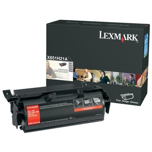 Lexmark X651H21A High-Yield Black Toner
