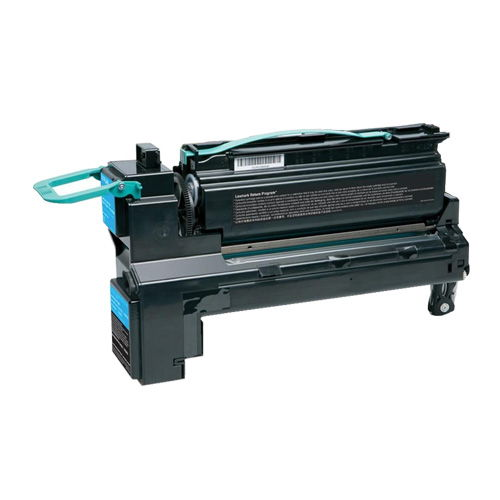 Compatible Lexmark X792X1CG Cyan Extra High Yield Toner Cartridge