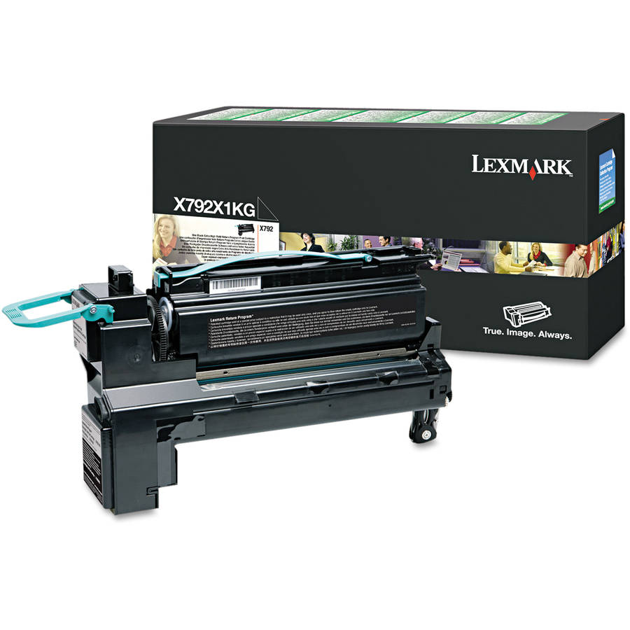 Lexmark X792X1KG (Return Program) Black Toner Cartridge