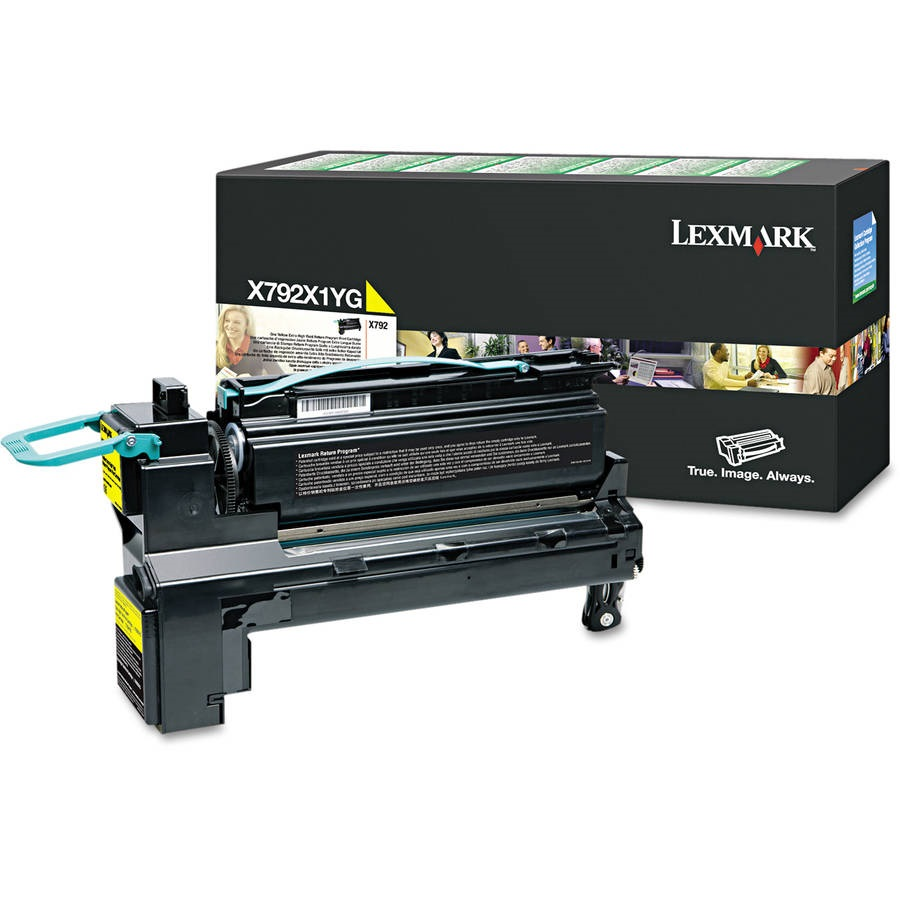 Lexmark X792X1YG Yellow Toner Cartridge