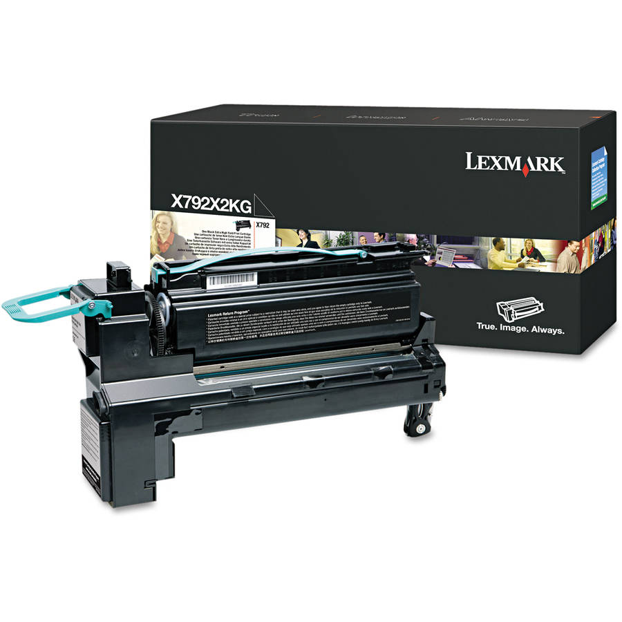 Lexmark X792X2KG Black Toner Cartridge