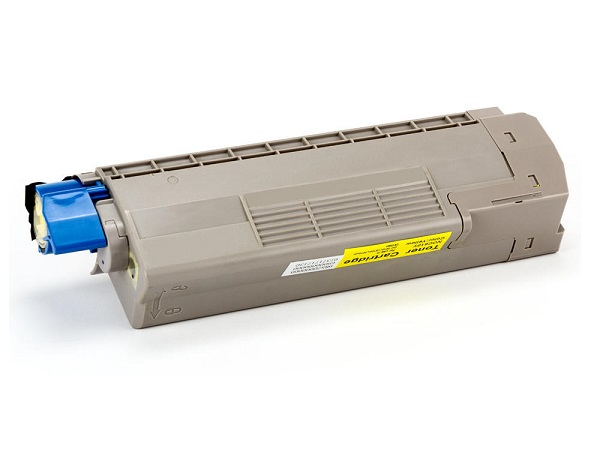 Compatible Okidata 44315301 Yellow Toner Cartridge