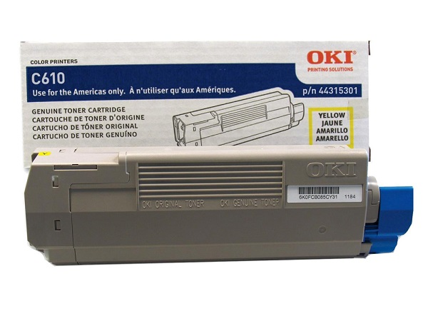 Okidata 44315301 Yellow Toner Cartridge