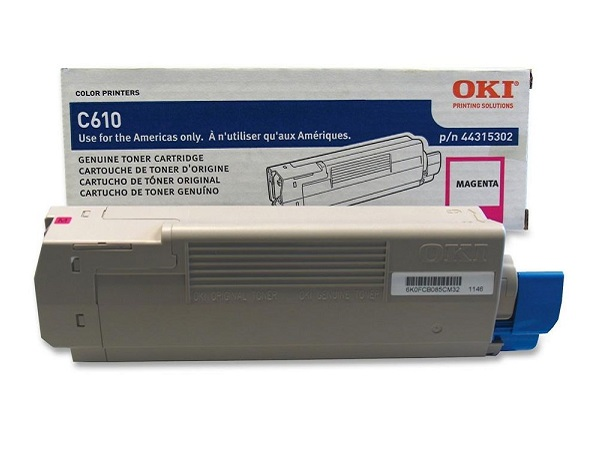 Okidata 44315302 Magenta Toner Cartridge
