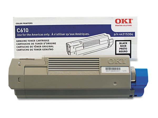Okidata 44315304 Black Toner Cartridge