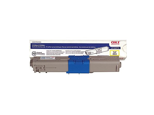 Okidata 44469701 Yellow Toner Cartridge