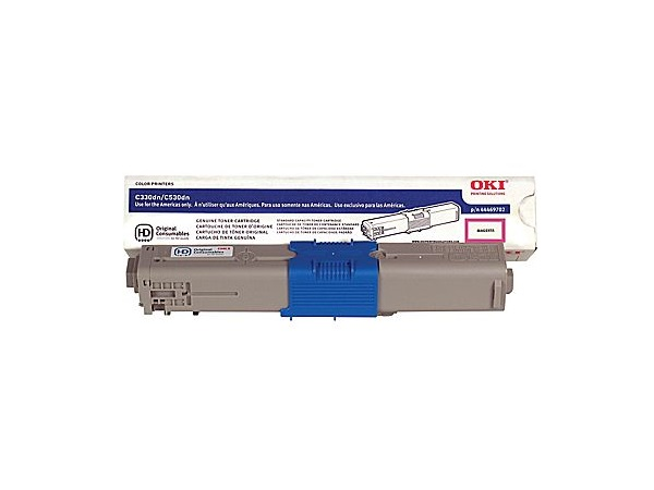Okidata 44469702 Magenta Toner Cartridge
