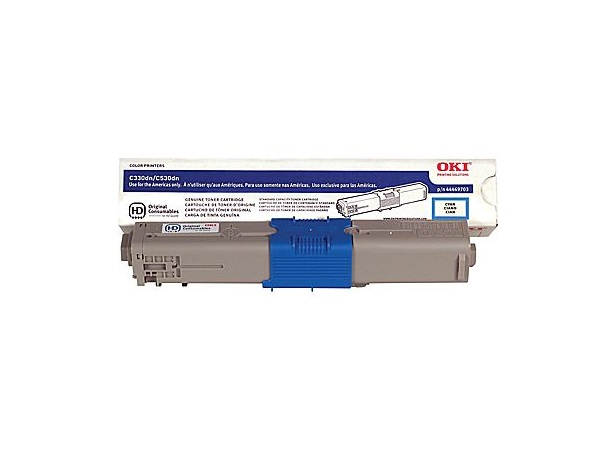 Okidata 44469703 Cyan Toner Cartridge