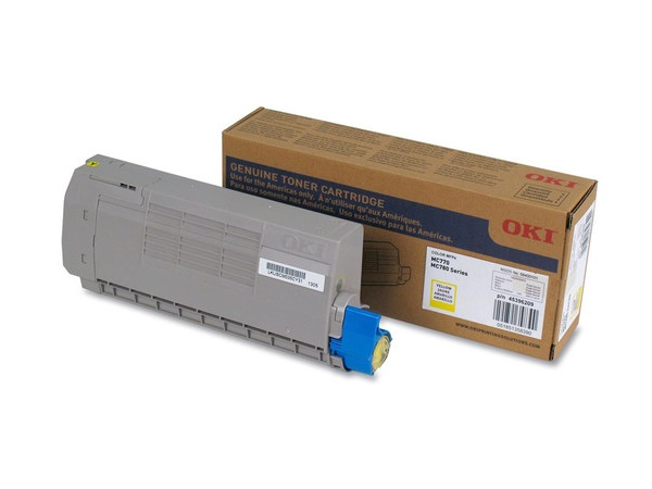Okidata 45396209 Yellow Toner Cartridge