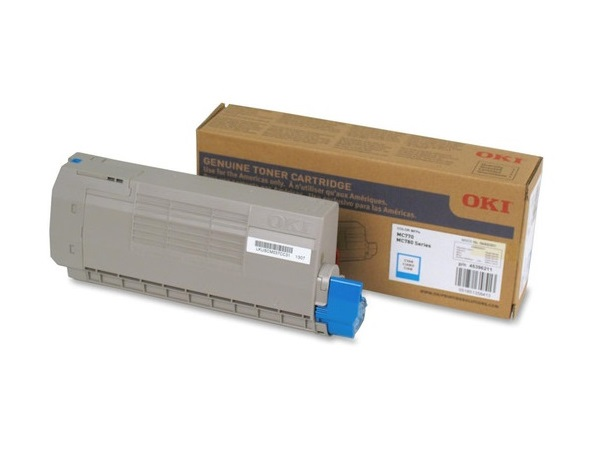 Okidata 45396211 Cyan Toner Cartridge