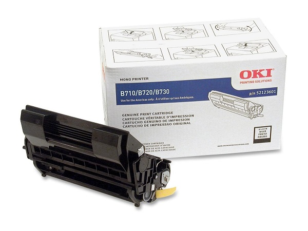 Okidata 52123601 Black Toner Cartridge