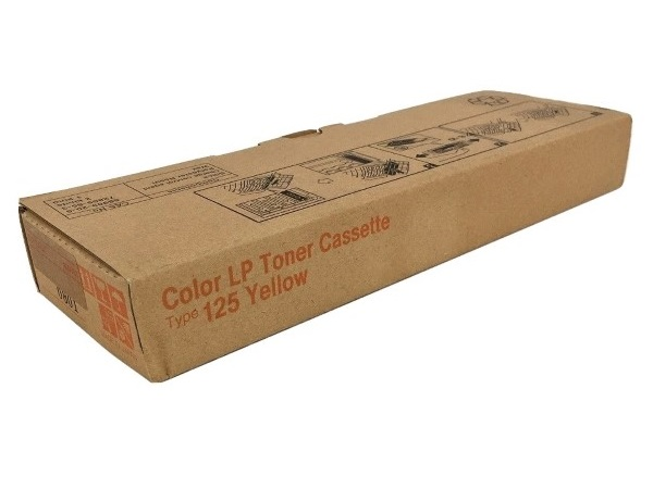 Ricoh 400981 (Type 125) Yellow Toner Cartridge
