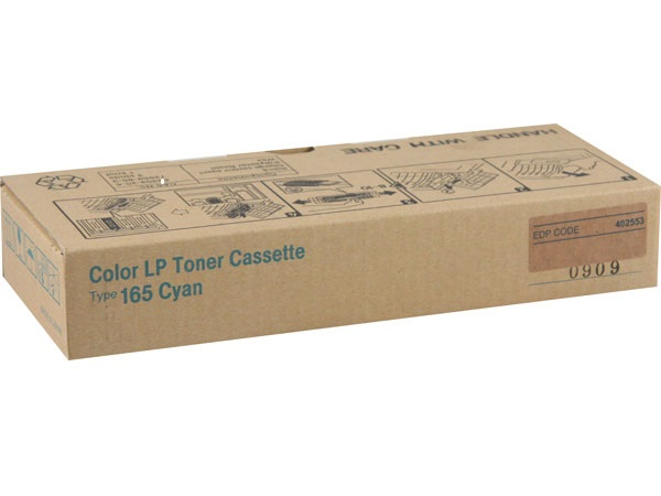 Ricoh 402553 (TYPE 165) Cyan Toner Cartridge