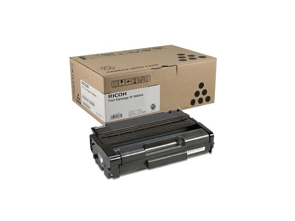 Ricoh 406465 (SP3400HA) Black Toner / Drum Print Cartridge