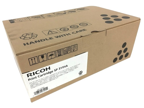 Ricoh 407245 (SP311HA) Black High Yield Print Toner Cartridge