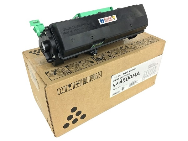 Ricoh 407316 (SP-4500HA) Extra High Yield Black Toner Cartridge