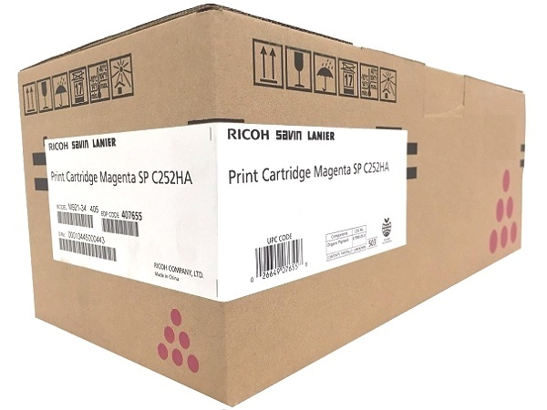 Ricoh 407655 Magenta All-in-One Print Cartridge