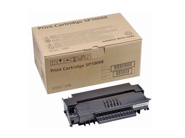 Ricoh 413460 (SP1000A) Black Toner / Drum Print Cartridge