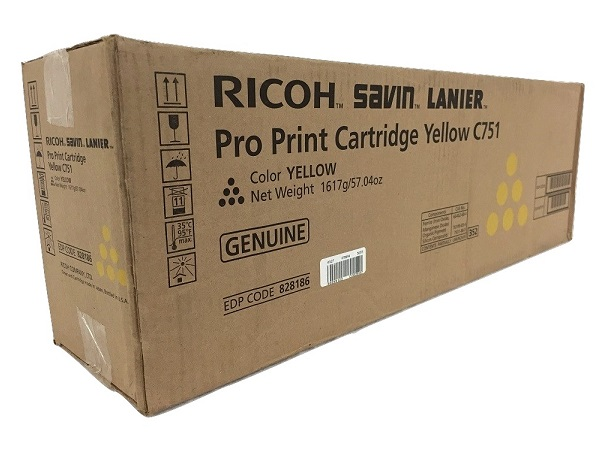 Ricoh 828186 Yellow Toner Cartridge