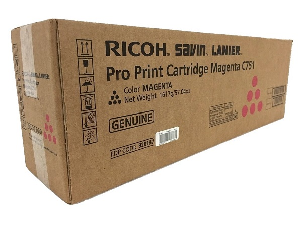 Ricoh 828187 Magenta Toner Cartridge