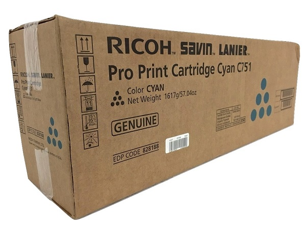 Ricoh 828188 Cyan Toner Cartridge