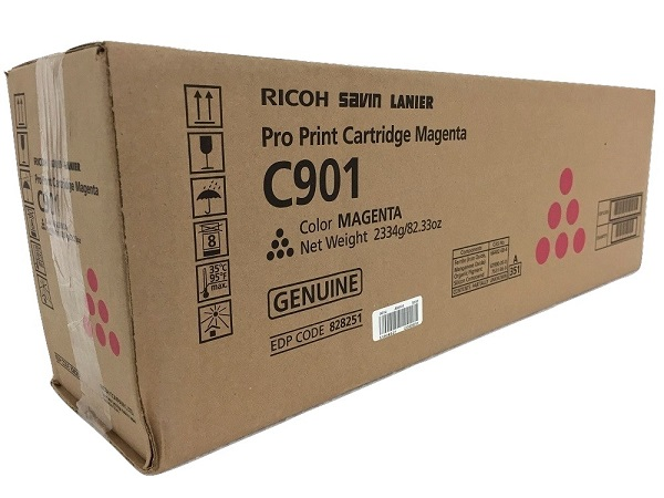 Ricoh 828251 (PRO C901) Magenta Toner Cartridge - High Yield