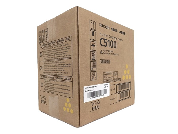 Ricoh 828351 (828222) Yellow Toner Cartridge