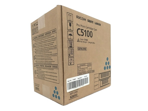 Ricoh 828353 (828224) Cyan Toner Cartridge