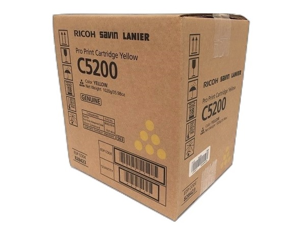 Ricoh 828423 Yellow Toner Cartridge