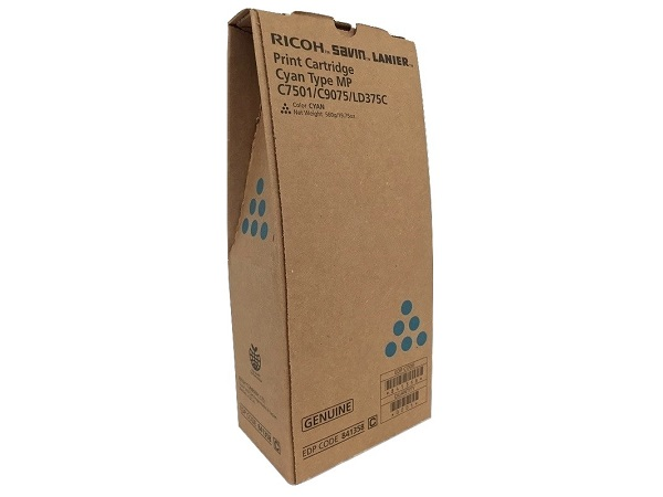 Ricoh 841358 Cyan Toner Cartridge
