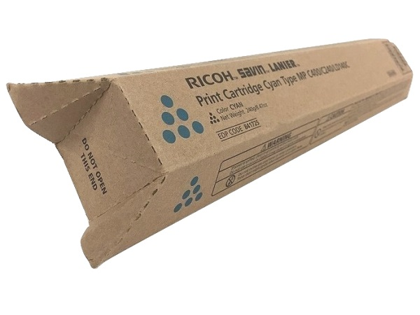 Ricoh 841725 (841296) Cyan Toner Cartridge