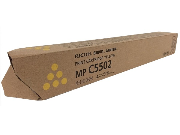 Ricoh 841752 (841680) Yellow Toner Cartridge