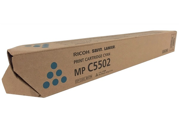 Ricoh 841754 Cyan Toner Cartridge