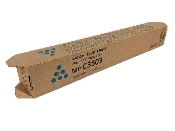 Ricoh 841816 (841820) Cyan Toner Cartridge
