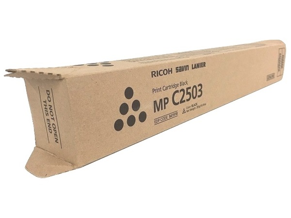 Ricoh 841918 (C2503) Black Toner Cartridge Hi Yield
